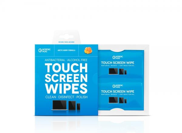 NORDIC HUG TOUCH SCREEN WIPES + MICROFIBER